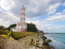 Shabla latarnia morska w Bułgaria Zdjęcia Royalty Free