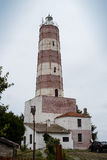 Shabla Lighthouse. The old lighthouse by the Black Sea seaside at Shabla, Bulgaria Stock Photo
