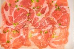 shabu中国食物猪肉样式  免版税库存图片