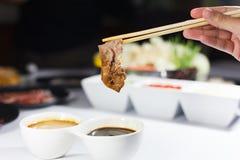 Shabu beef Stock Images