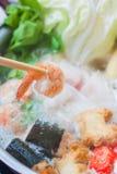 Shabu de Shabu, yaki do suki, hotpot imagens de stock royalty free