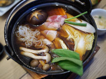 Shabu japanese cuisine Stock Photo
