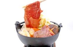 Shabu, japanese food Stock Images
