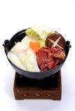 Shabu shabu, japanese food Stock Photos