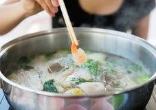 Shabu Sukiyaki japanese food style Stock Image