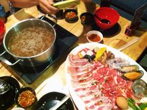 Shabu Time Royalty Free Stock Photography