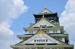 Shachi-Gawara statue at atop Osaka Castle Stock Images