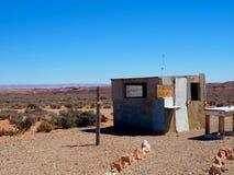 Desert Shack at Anza Borrego in California. A shack in the desert at Anza Borrego State Park in Southern California royalty free stock image