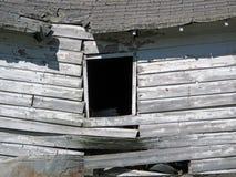 Shack di legno crollato abbandonato fotografia stock libera da diritti