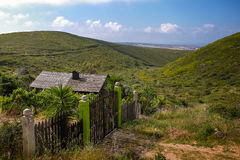 Shack in the Hills Stock Photography