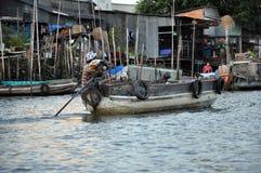 Shack home, house in Mekong delta, Vietnam Stock Image