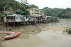 Shack in Ma Wan, Hong Kong Stock Photos