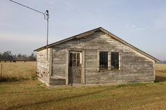 Shack in Marion County Stock Image
