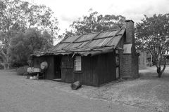 Shack. OLd shack in western NSW Stock Photography