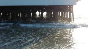 Shack sur la plage Image libre de droits