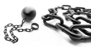 Shackle Royalty Free Stock Photo