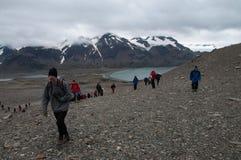 Shackleton's Trail Royalty Free Stock Photos
