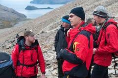 Shackleton's Trail Royalty Free Stock Image