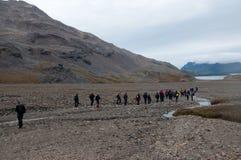 Shackleton's Trail Stock Photos