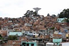 Slum, neighborhood of sao paulo, brazil Stock Images