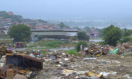Shacks ruins,Maksuda slum,Varna Stock Images