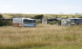 Shacks in Transkei South Africa Royalty Free Stock Image