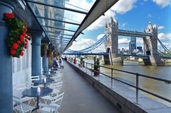 Shad Thames London - England United Kingdom Royalty Free Stock Photos