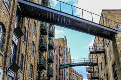 Shad Thames, Londres photo stock