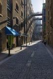 Shad Thames Street. Royalty Free Stock Photo