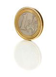 Shaddy coin 1 euro Stock Image
