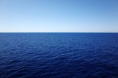 Shade of Blue of Aegean Sea Stock Image