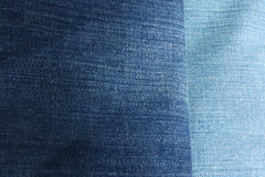Shade of blue jeans Royalty Free Stock Photo