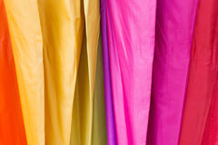 Shade color umbrella. Royalty Free Stock Photos