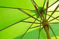 Shade of green. Shade of green bamboo fabric Royalty Free Stock Photos