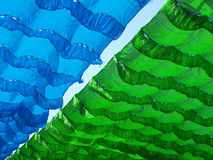 Shade net. Flying in sunny day royalty free stock photo