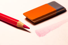 Shade with pencil Royalty Free Stock Image