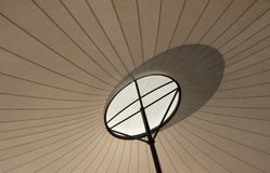 Shade Sail With Shadow. Royalty Free Stock Photos