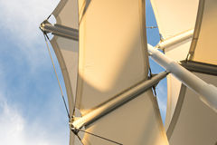 Shade Sail Structure Royalty Free Stock Photography