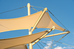 Shade Sail Structure Royalty Free Stock Photos