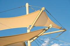 Shade Sail Structure Royalty Free Stock Photos