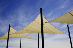 Shade Sails Royalty Free Stock Photography