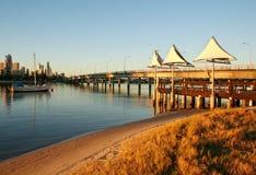 Shade Sails At Southport stock image