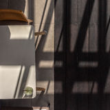 Shade and shadow. Shade of light and shadow in the late afternoon Stock Photo