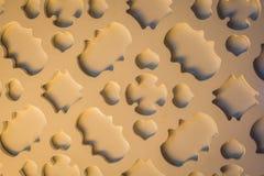 Shade and shadow wall Royalty Free Stock Image