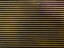 Yellow corrugated paper interesting texture stock photo