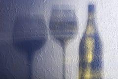 Shade wineglass Royalty Free Stock Photos