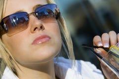 Shaded Beauty Stock Photos