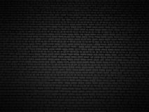 Shaded brick wall. Royalty Free Stock Photography