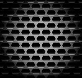 Shaded, Dark background / pattern with hexagonal shapes. repeata Stock Photo