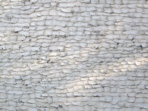 Shaded Grunge Patterned Stucco Wall Stock Photo